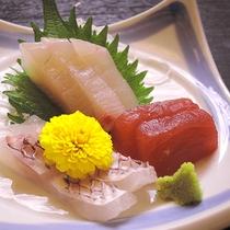 *【夕食一例】刺身