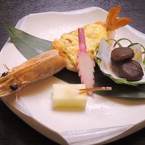 *【夕食一例】海老グラタン