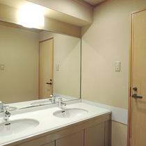 *【客室一例】洗面所とトイレ