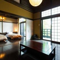 客室|【別館】木々に囲まれた安らぎと憩いの空間。