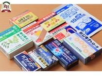 フロントには常備薬もございます。体調が優れない時はご連絡下さい。