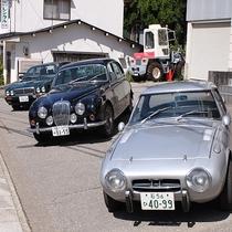 社長のクラシックカーコレクション♪ポルシェ914、デイムラー1967年製等ファンにはたまらない!
