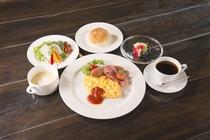 洋朝食 基本は和食の朝食ですが洋食希望のお客様は前日にお伝えくださいませ