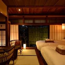 薄桜(京町屋ツイン風和室)