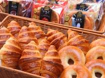 無料軽食サービス パン1(イメージ) ご提供時間AM7:00~9:00