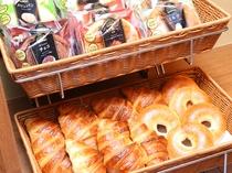 無料軽食サービス パン2(イメージ) ご提供時間AM7:00~9:00