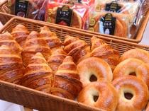 無料軽食サービス パン3(イメージ) ご提供時間AM7:00~9:00