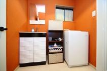 洗面台と洗濯機