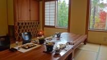 和室でお食事(例)