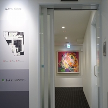 4F女性客室入口