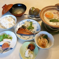 *【朝食】バランスの良いお食事で元気にいってらっしゃい!