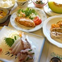 *【夕食】旬のお料理を愛情たっぷりでおもてなし