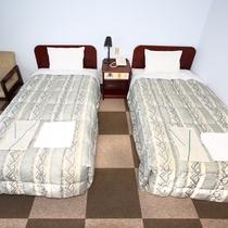 【お部屋】ツイン★清潔感のあるお部屋を心がけています。