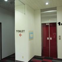 【館内】エレベーターがあるので、重たい荷物も安心。