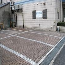 ホテル隣接駐車場