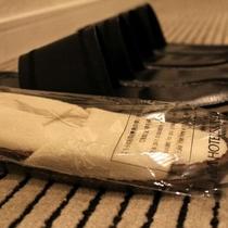 通常スリッパと使い捨てスリッパ2種類ご用意
