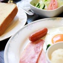 ご朝食例(洋定食)