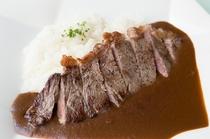 ステーキカレー(夕食付プラン)