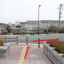 堺駅東口~ホテル3