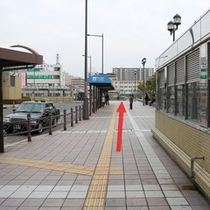堺駅東口~ホテル2