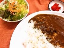 お手頃:ご夕食≪ルームサービス≫カレーライス