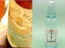 伊勢産の「神都ビール」と「横丁サイダー」