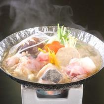 *【山海メイン料理チョイスプラン】<海>あんこう鍋