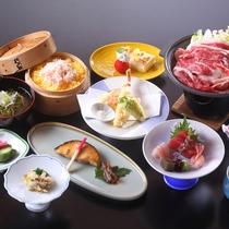 *【平日限定 季節の会席プラン】料理一例