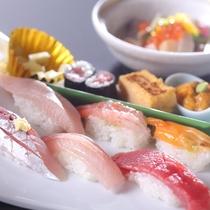 *【すし会席プラン】にぎり寿司一例