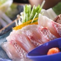 *【山海メイン料理チョイスプラン】鯛のしゃぶしゃぶ