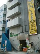 東京木場ホテル入り口