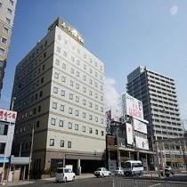 ホテル外観・JR青森駅より徒歩1分♪