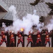 彦根城に鉄砲隊参上