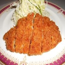 夕食★豚カツ