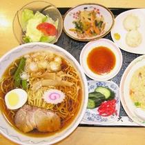 ラーメン+餃子+炒飯