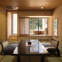 紅雲閣露天風呂付客室一例1