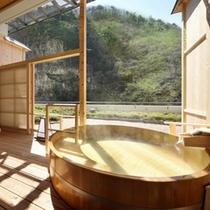 紅雲閣露天風呂付客室一例3