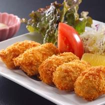 牡蠣フライ 冬の別注料理