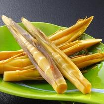 姫竹の味噌漬 春の別注料理