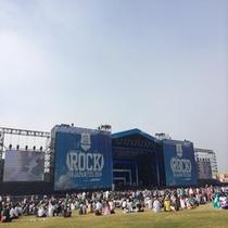 【観光】ROCK IN JAPAN(茨城最大イベント!)<夏>