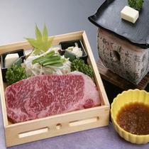*上州牛サーロインステーキ(一例)