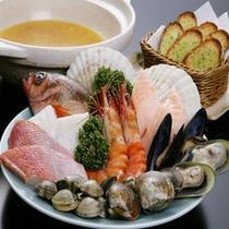 *いかほ風ブイヤベース鍋(一例)
