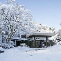 冬の晴観荘