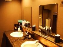 男性大浴場・洗面台