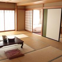 *和室/広々、快適な空間。