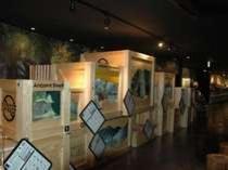 黒壁スクエア内にある「海洋堂フィギアミュージアム」大人でも楽しめます。