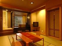 別館最上階 露天付客室 「颯(かぜ)」
