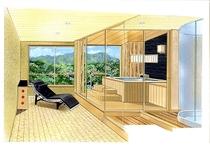 2007年5月リニューアル露天風呂付客室