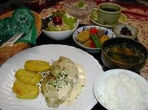 夕食パターン(父撮影)