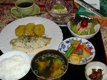 夕食パターン(母撮影)